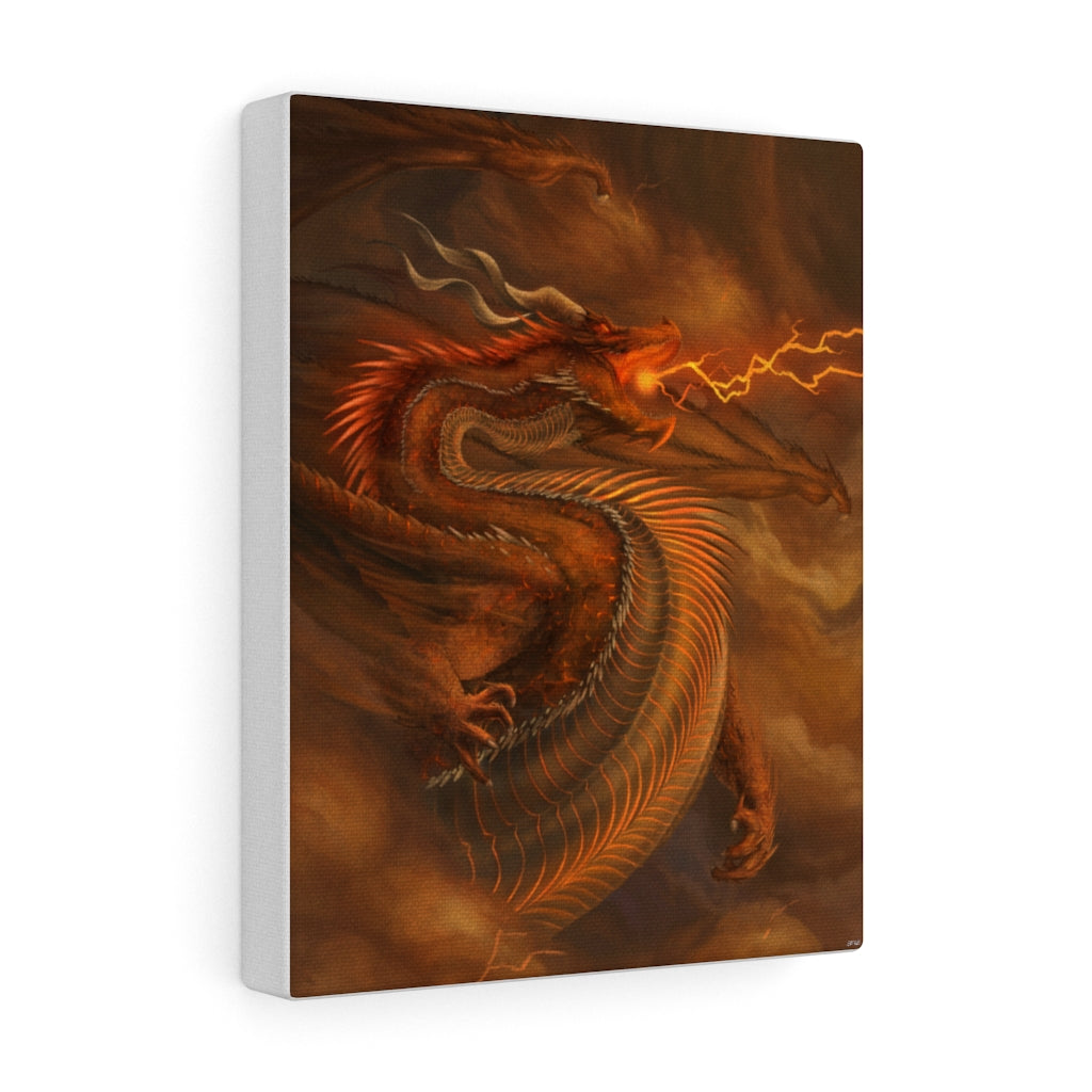"""The Desolation Bringer"" canvas - Rey's Dragon"