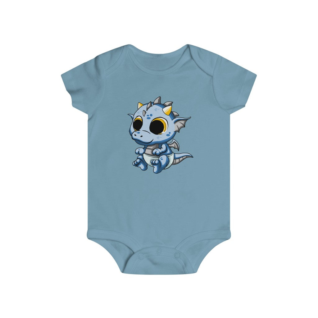 Blue Baby Dragon bodysuit - Rey's Dragon