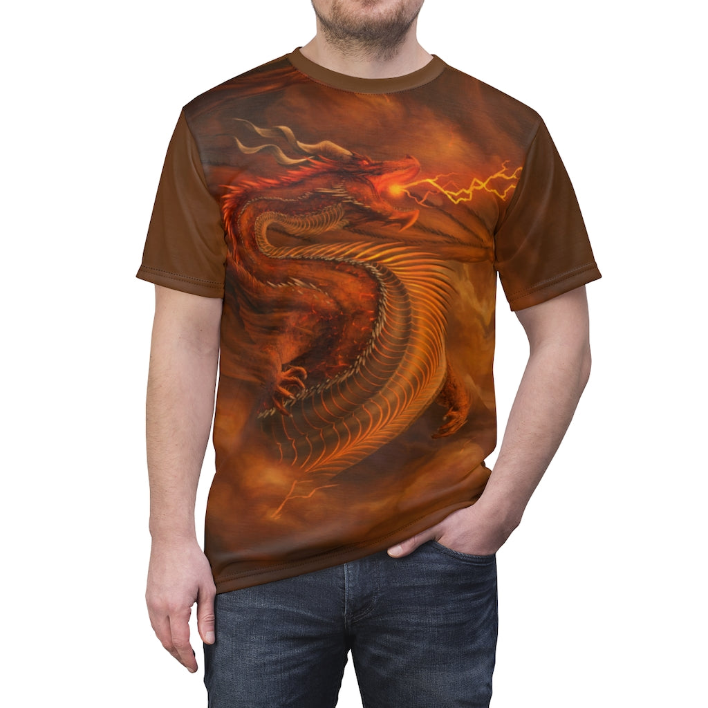 """The Desolation Bringer"" All Over Print T-Shirt - Rey's Dragon"