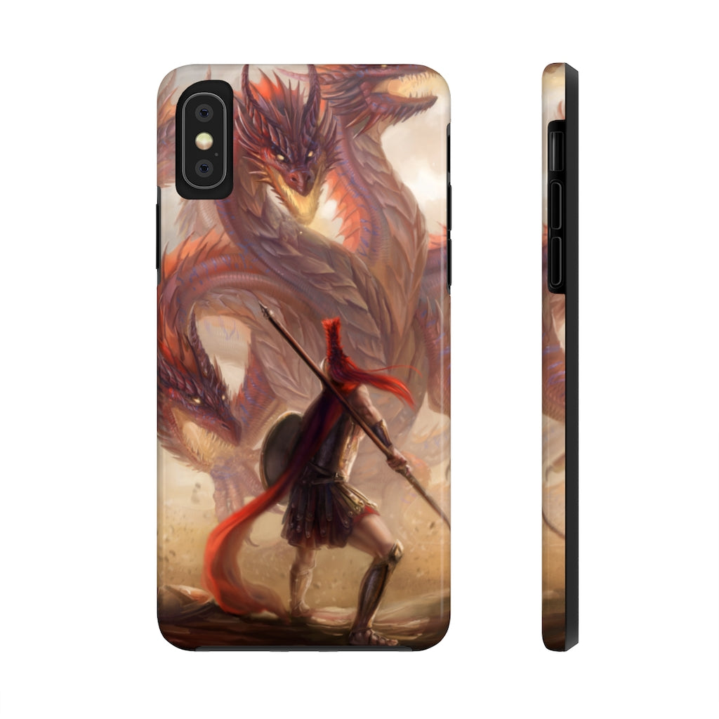"""Spartan's Challenge"" phone case - Rey's Dragon"