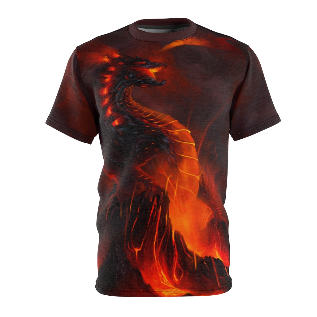 """of Fire and Stone"" All Over Print T-Shirt - Rey's Dragon"