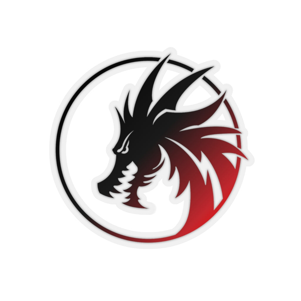 Black/Red Rey's Dragon sticker - Rey's Dragon