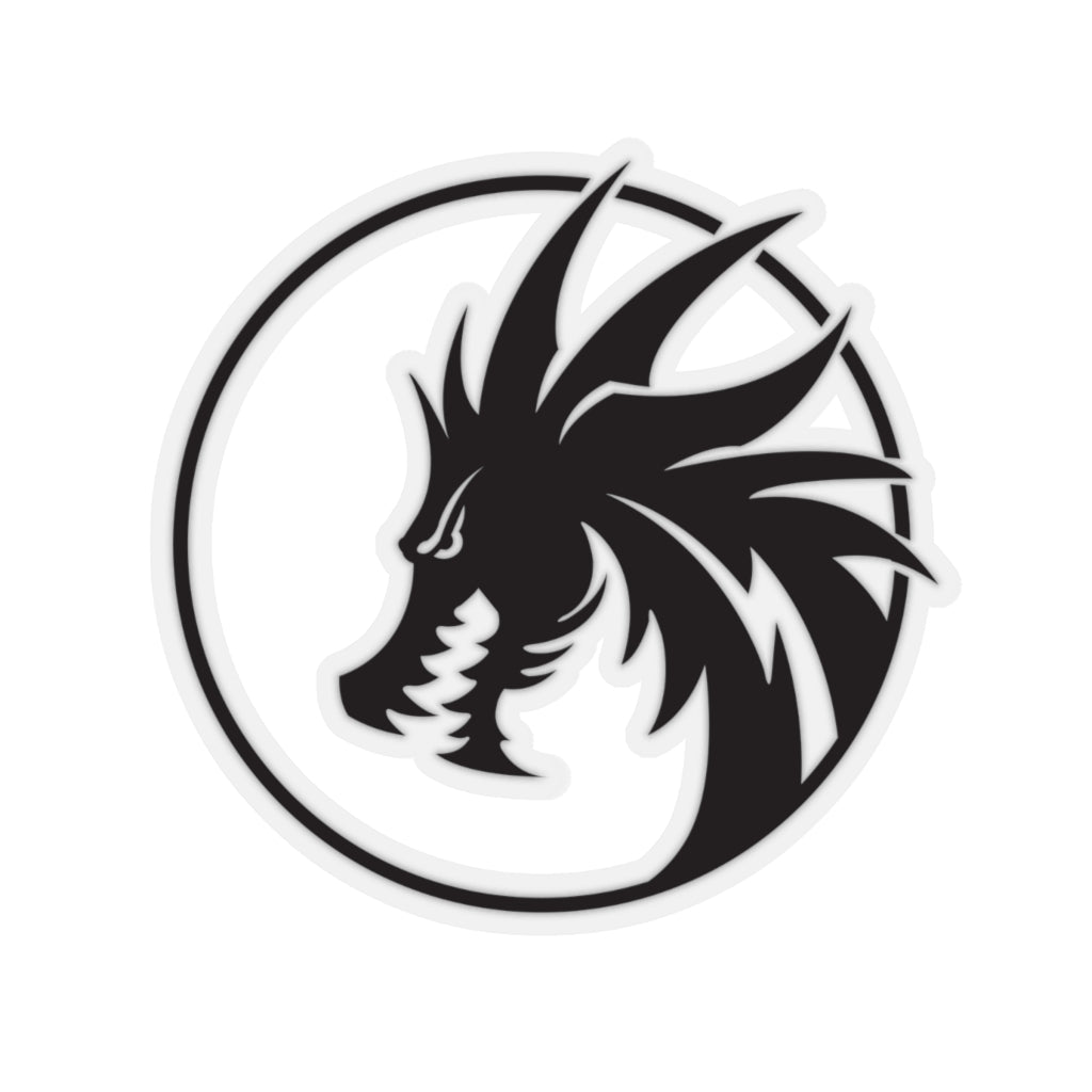 Black Rey's Dragon sticker - Rey's Dragon