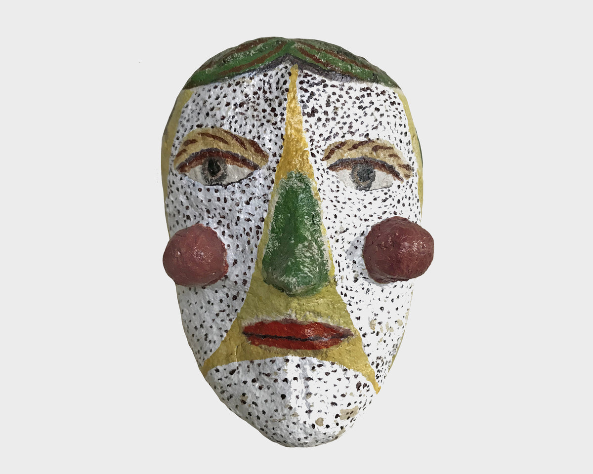 Each mask is hand-formed using papier- maché techniques and hand painted, where each one is always unique. Shop the collection now.
