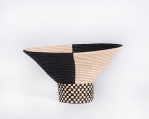 Checkered Knock Basket