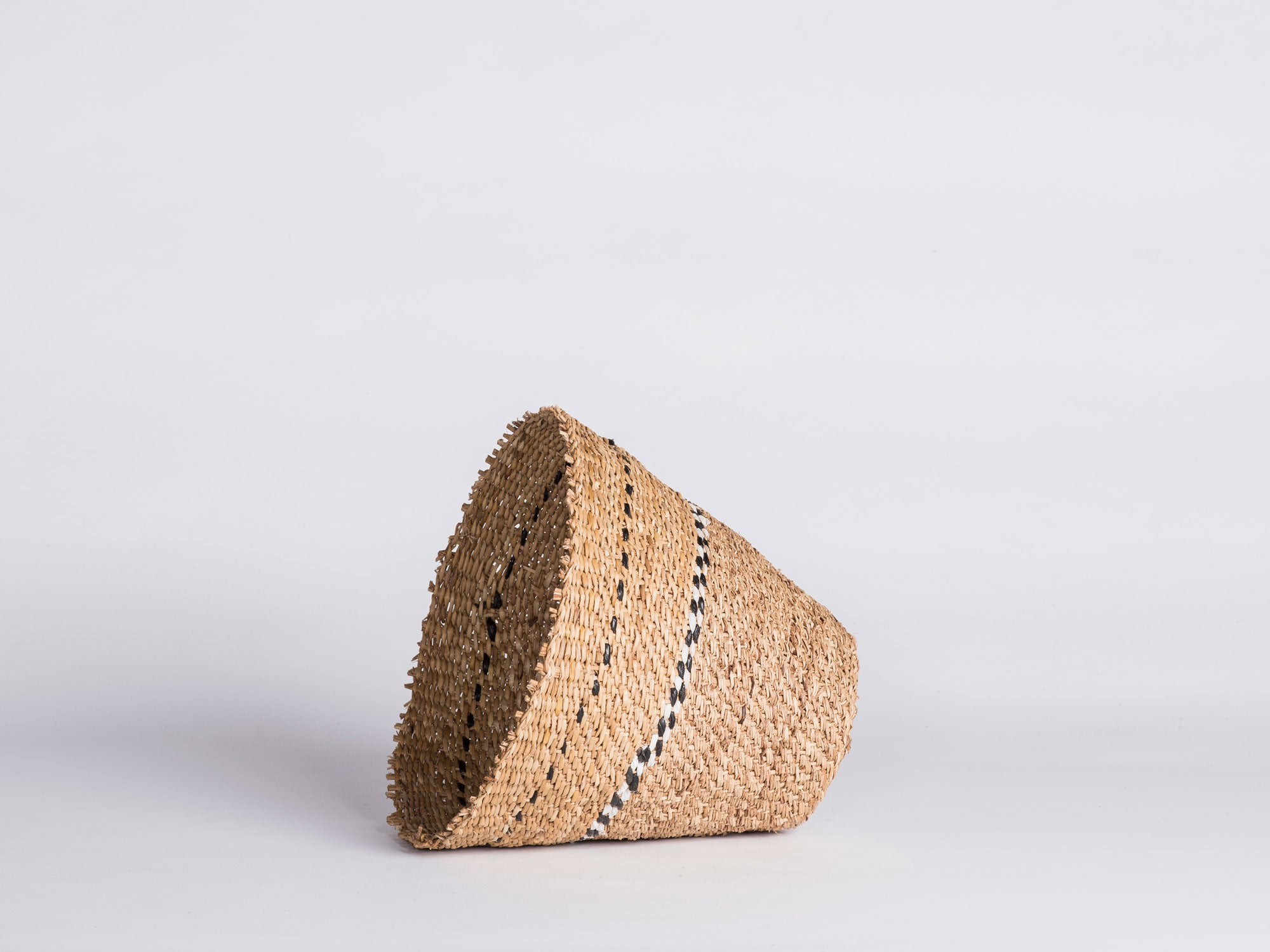 Xhosa Reed Basket - Check Detail
