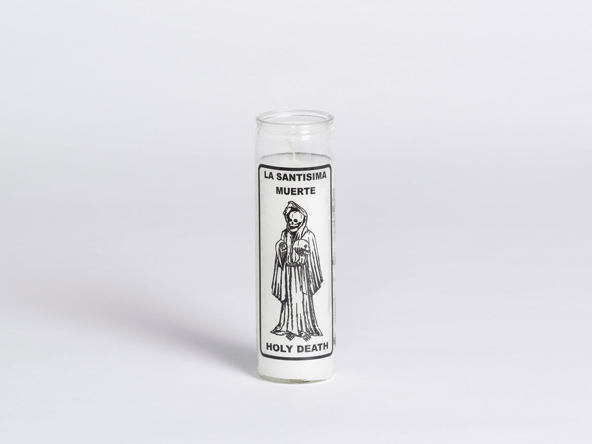 W PICO MIRACLE CANDLE - Holy Death (White)
