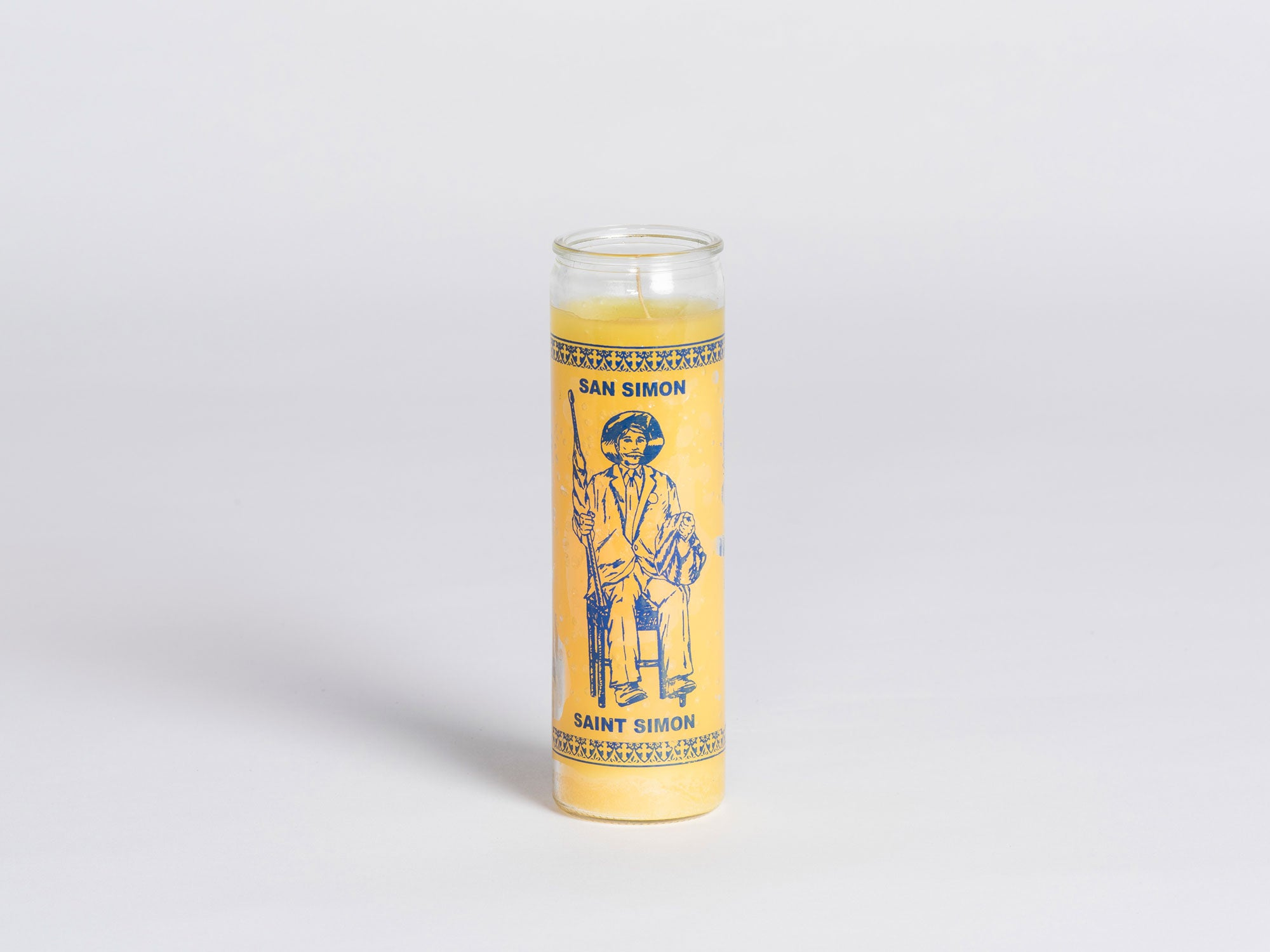 W PICO MIRACLE CANDLE - St. Simon (Yellow)