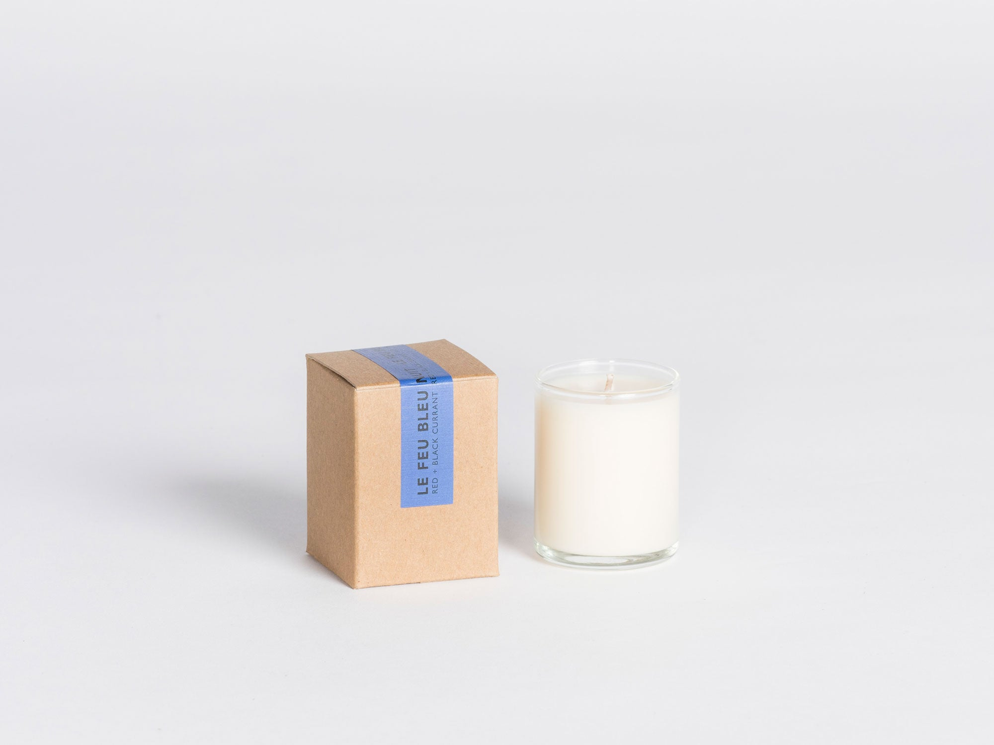 Le Feu De L'eau Candle - Black & Red Currant