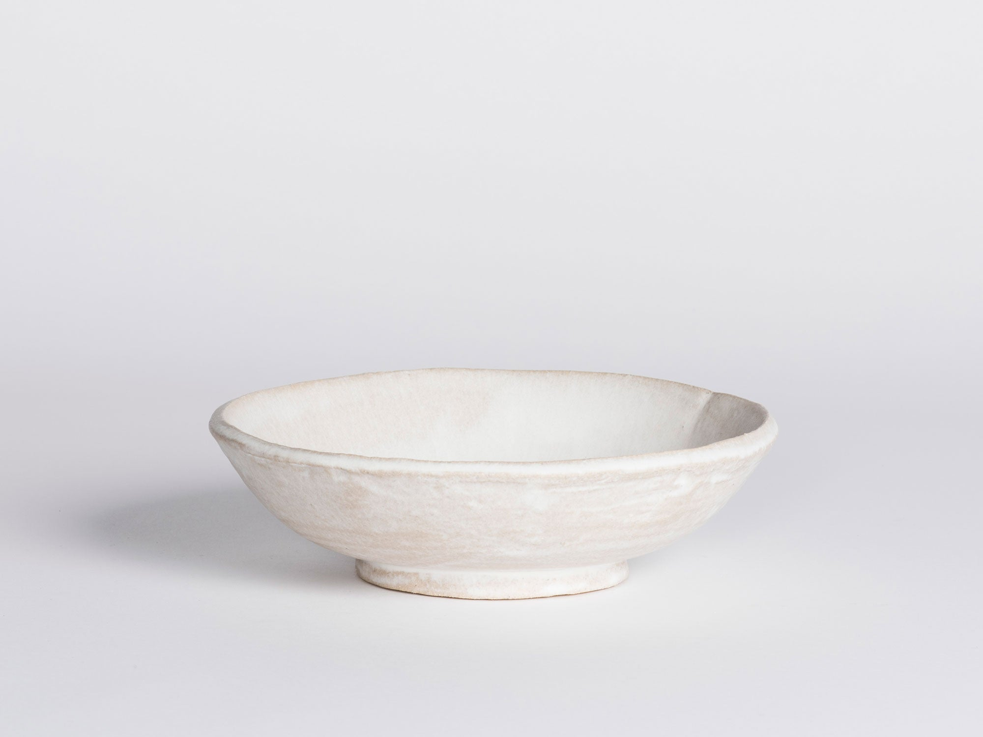 Morgan Peck Bowl - Frosted White
