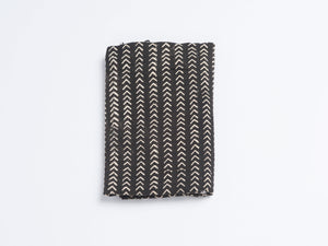 Mud Cloth Arrow - Black