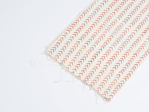 Mud Cloth Arrow - Brown