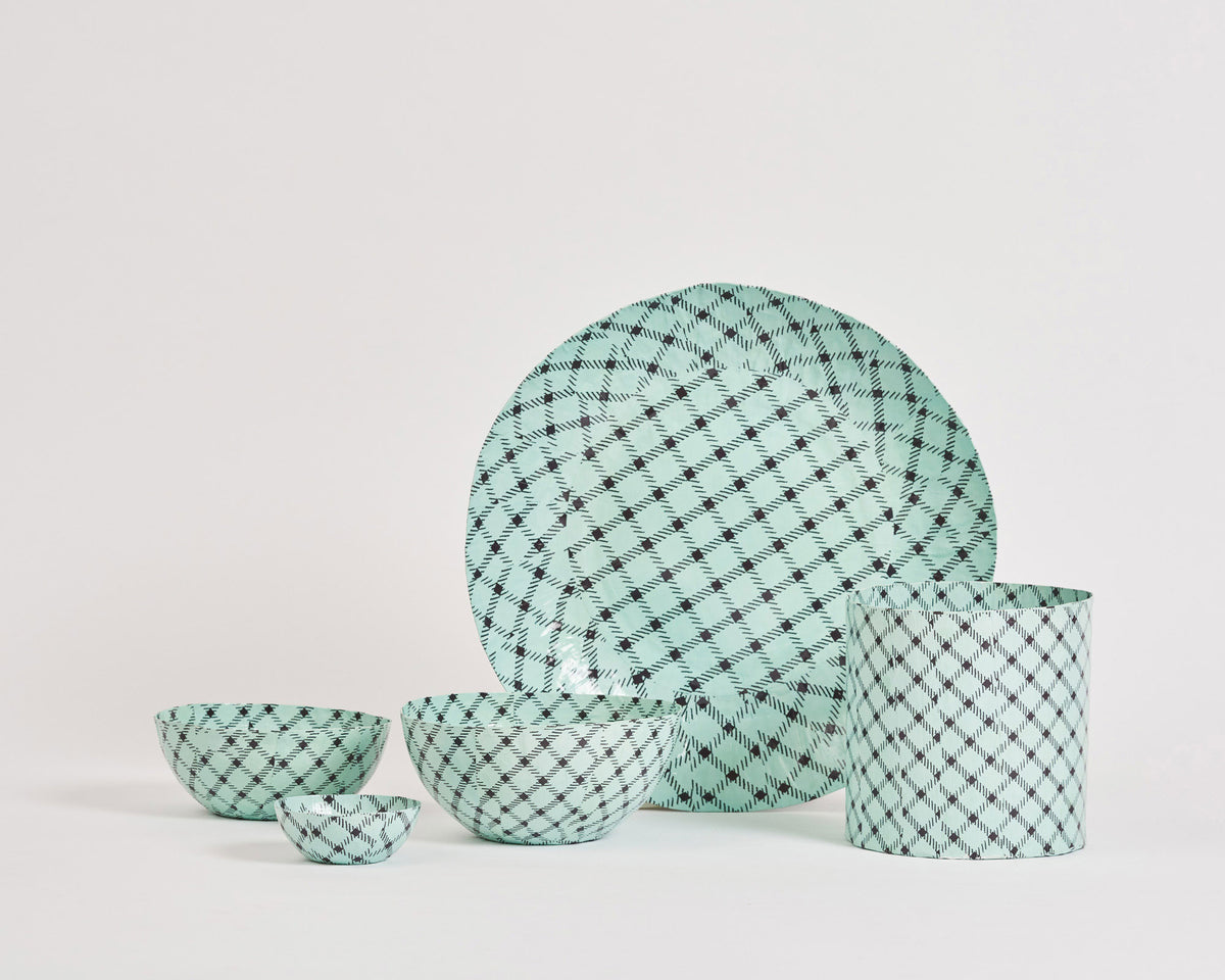 Pan After x Alice Oehr Paper Collection - 'Basket Weave'