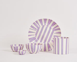 Pan After x Alice Oehr Paper Collection - 'Mumbai Stripe'