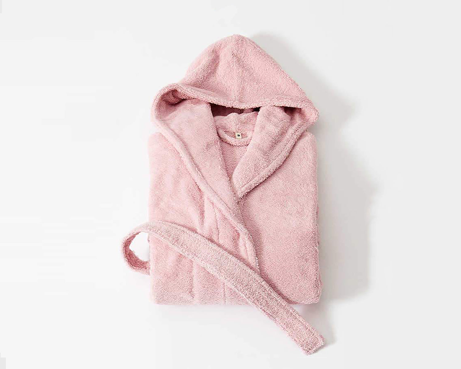 Tekla Organic Cotton Bathrobe - Stella Pink