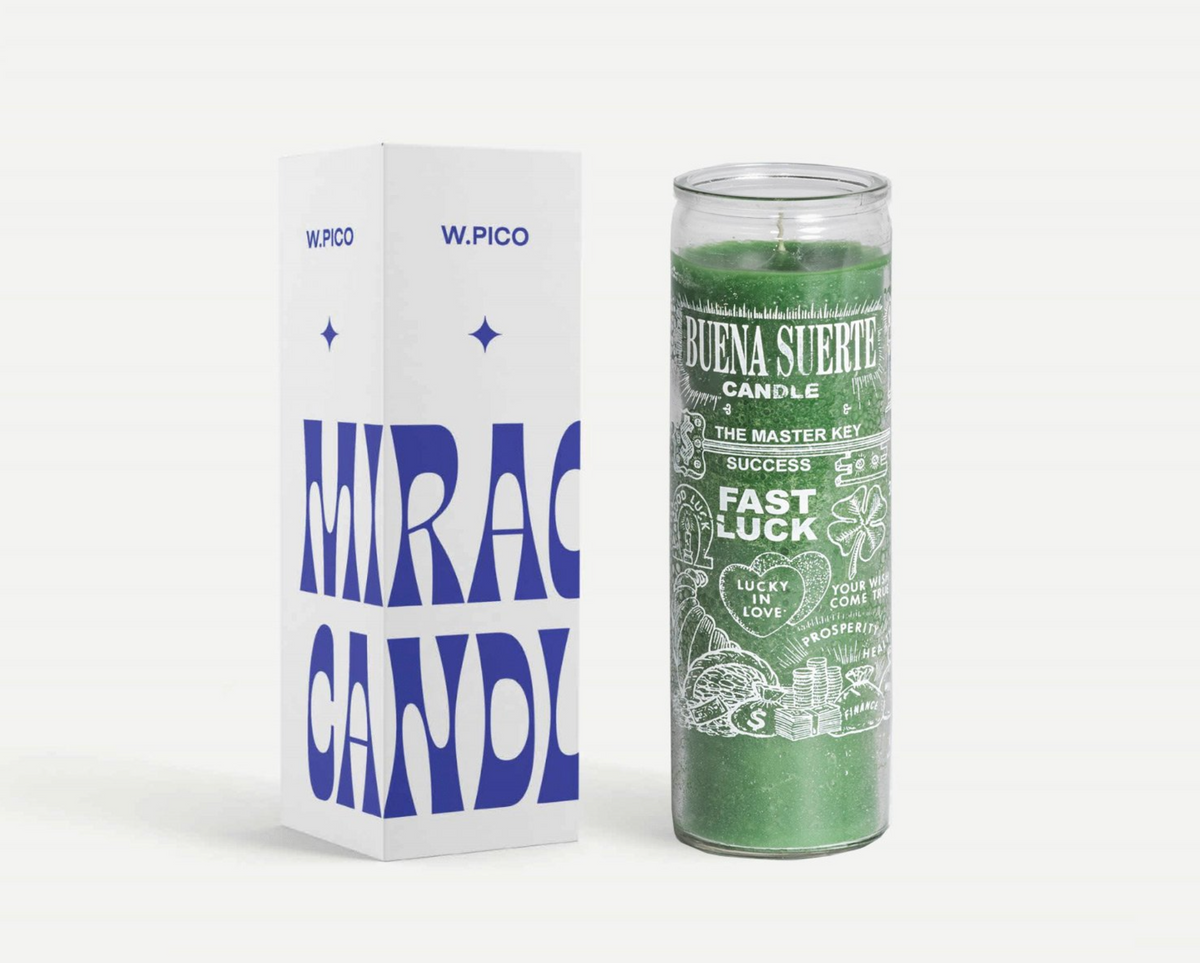 W PICO MIRACLE CANDLE - Fast Luck