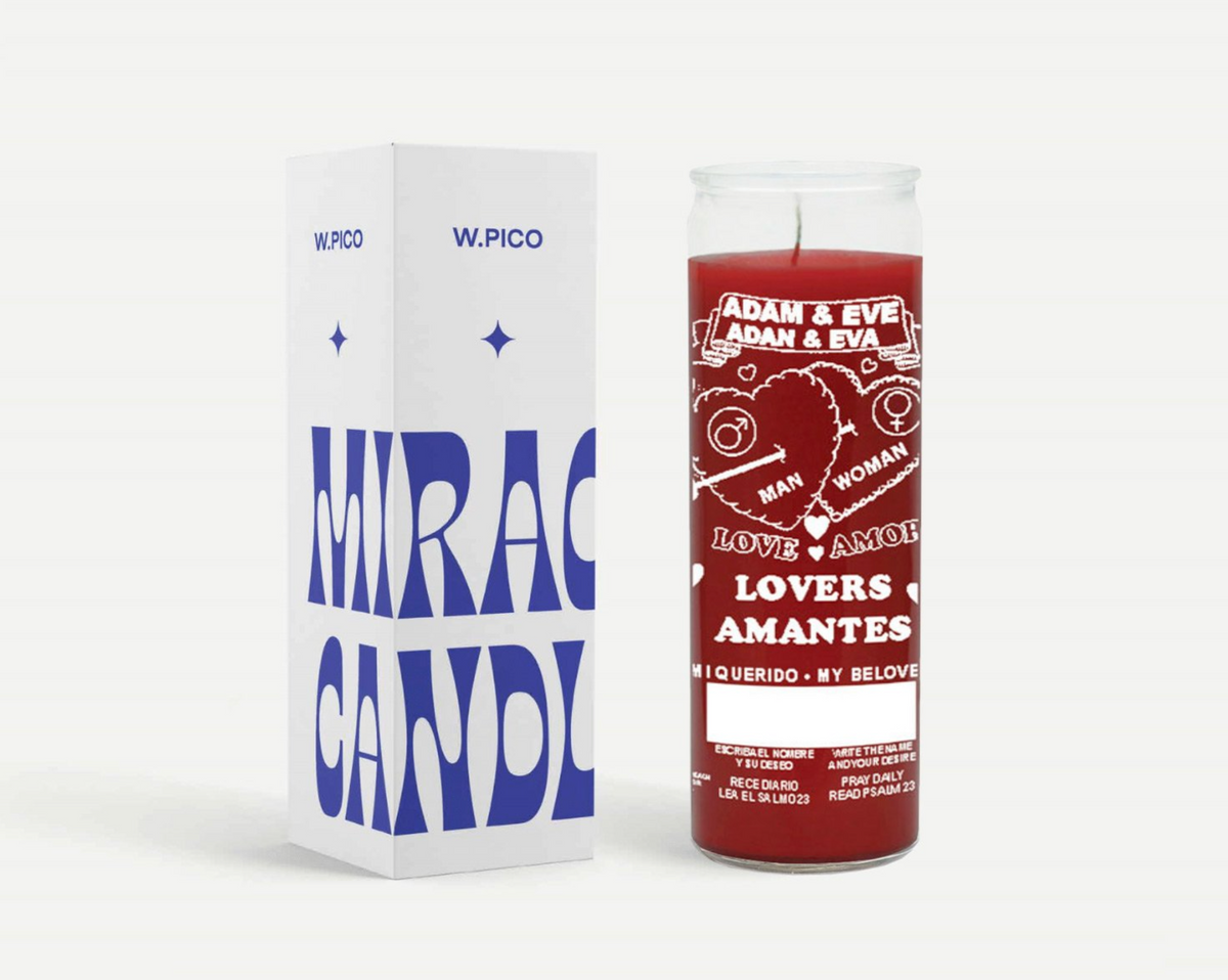 W PICO MIRACLE CANDLE - Lover's Amor