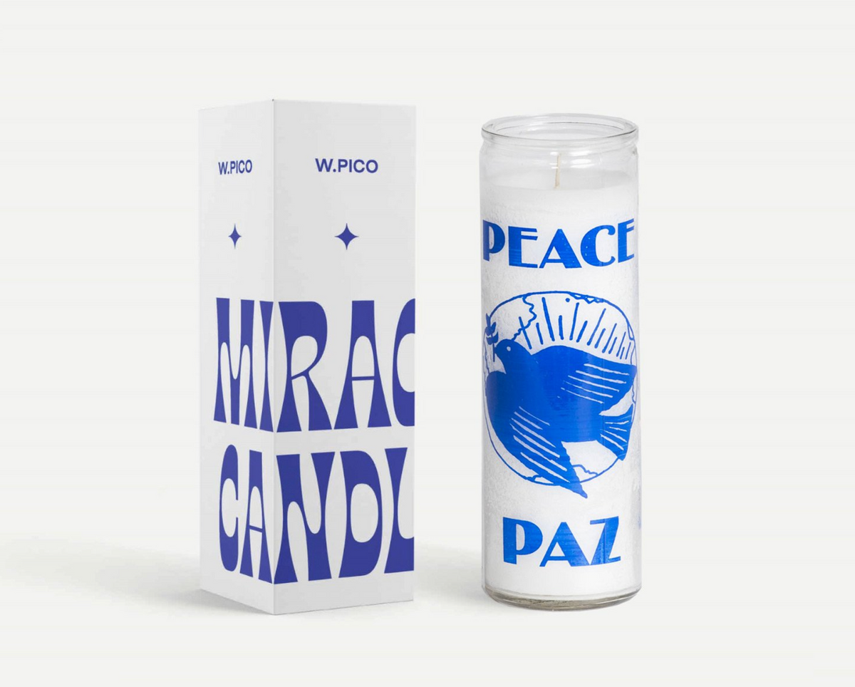 W PICO MIRACLE CANDLE - Peace
