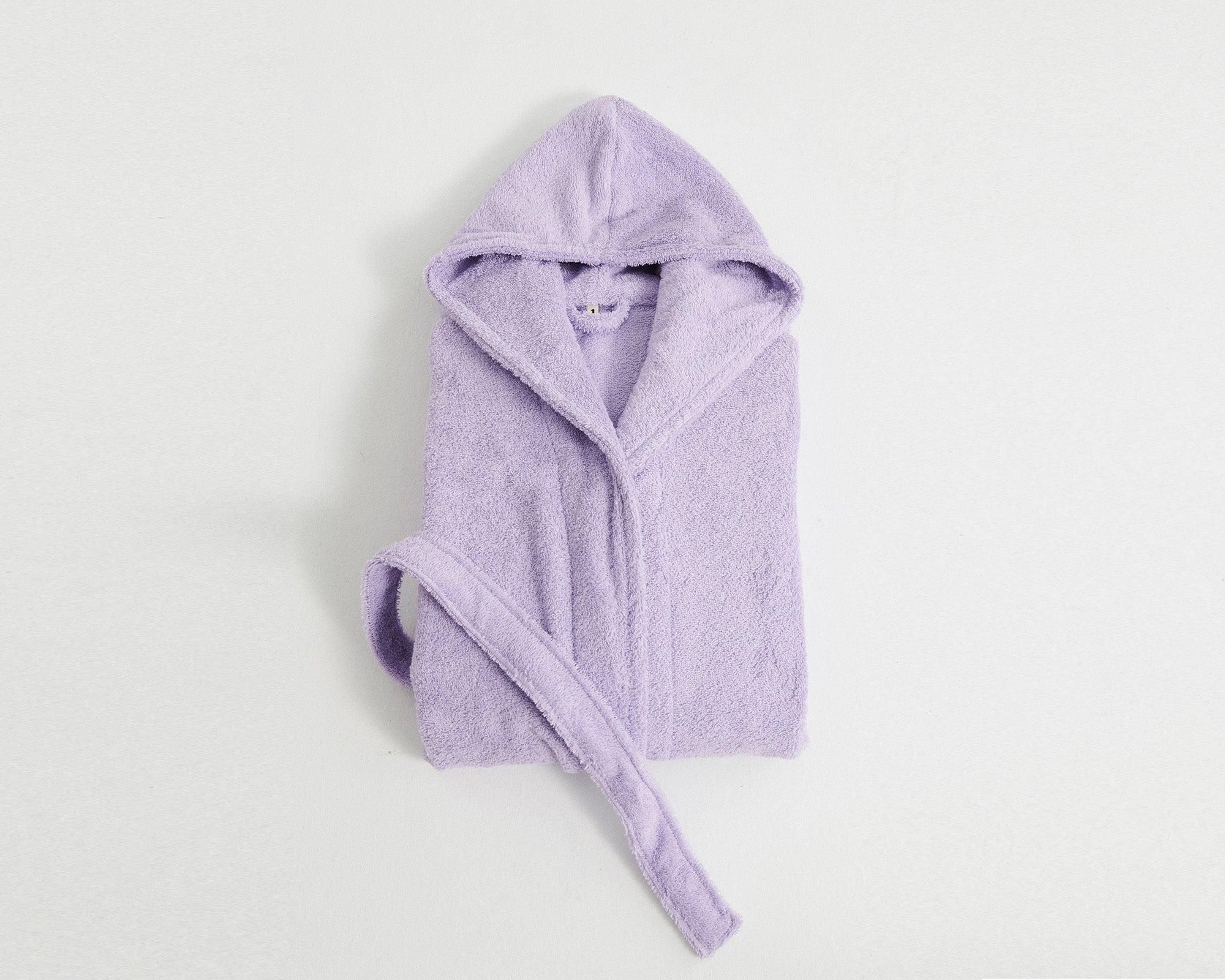 Tekla Organic Cotton Bathrobe - Lavender