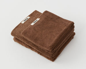 Tekla Organic Cotton Towel - Kodiak Brown