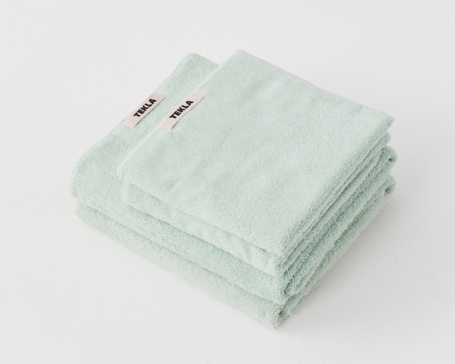 Tekla Organic Cotton Towel - Mint