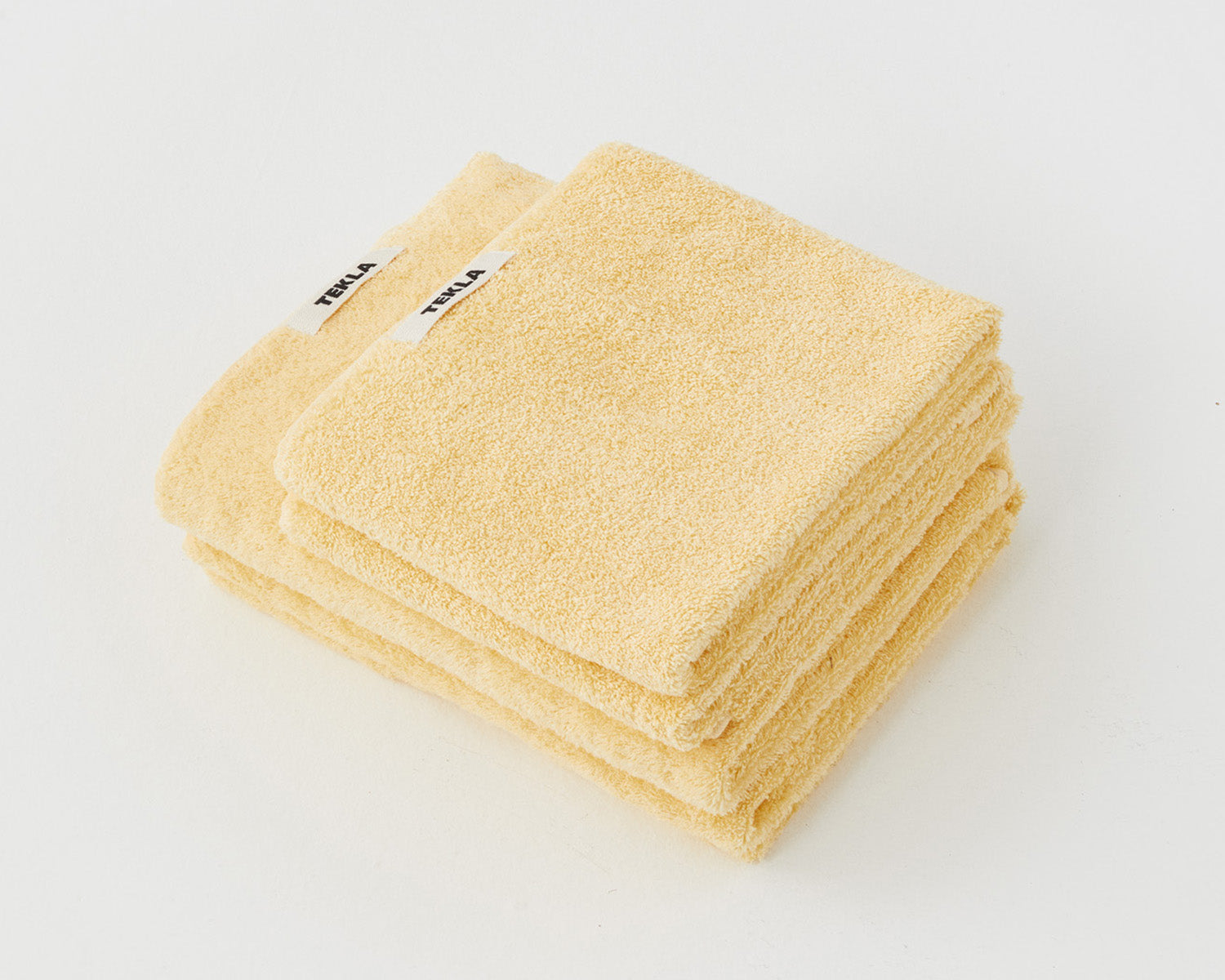 Tekla Organic Cotton Towel - Tender Yellow