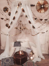 Load image into Gallery viewer, Metallic Gold/Silver Accordian Fan Garland