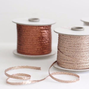 Metallic Braided Ribbons