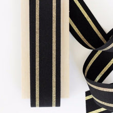 Load image into Gallery viewer, Striped Cotton Ribbons.