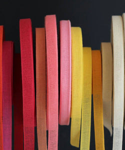 Loose Weave Cotton Ribbons