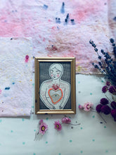 Load image into Gallery viewer, Passionate Heart Framed Embroidery