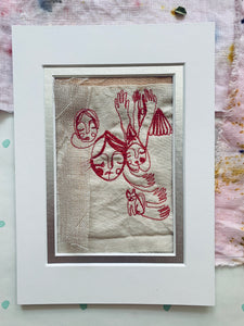 Unframed Free Motion Embroidery