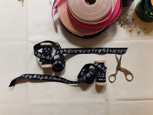 Calligraphy Ribbon Spool