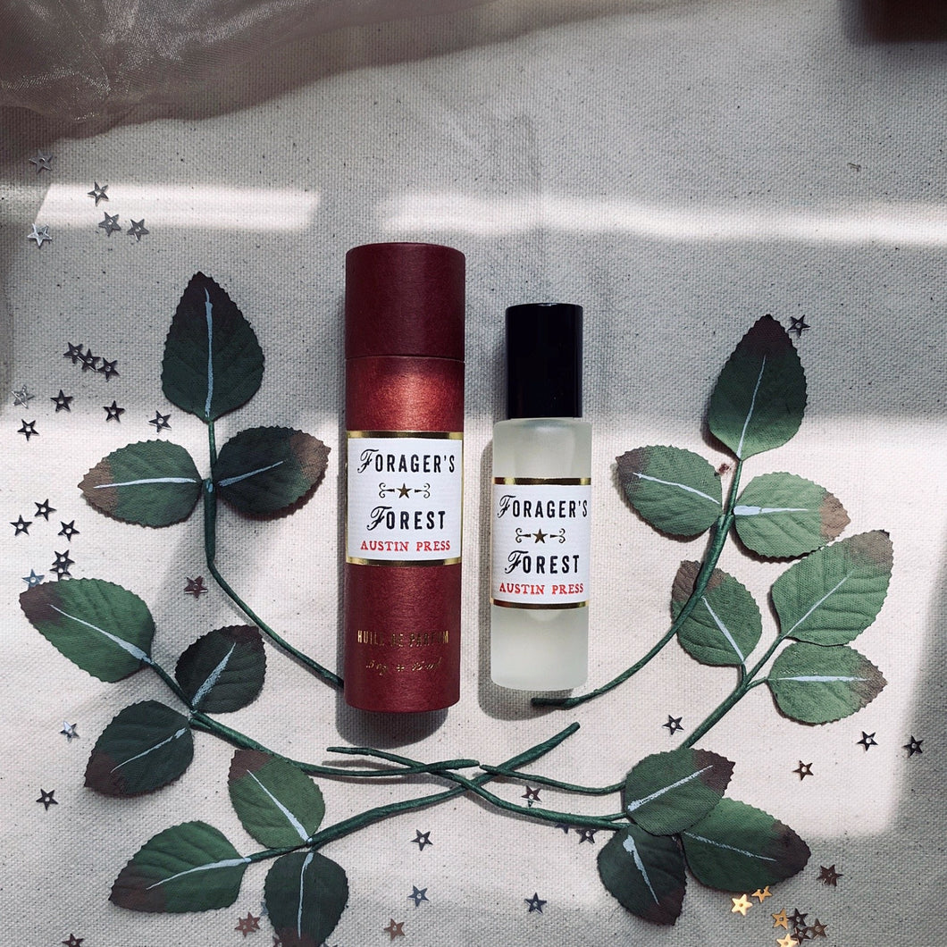 'Forager's Forest' Roll On Perfume