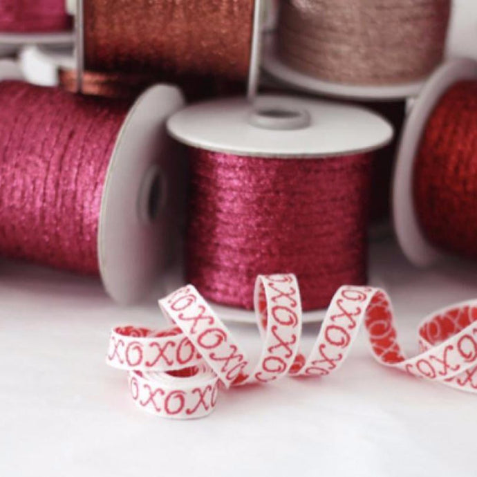 XOXO Brocaded Ribbon, Studio Carta
