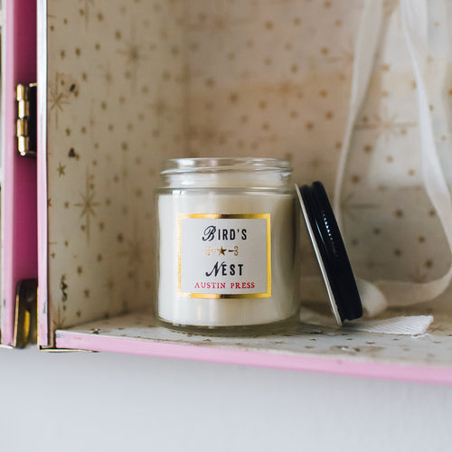Bird's Nest, Sanctum Candle (travel size)