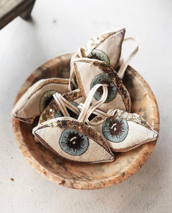 Evil Eye, Lavender Scented Ornament