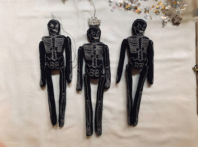 Skeletons of Cedar, Scented Seasonal Wallhangings