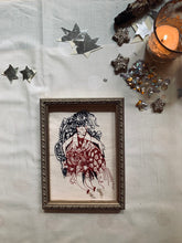 Load image into Gallery viewer, I Can Fly, Framed Machine Embroidery