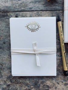 Cyclopes Eye , Foil Pressed Stationery Set