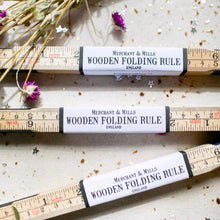 Load image into Gallery viewer, Wooden Folding Ruler