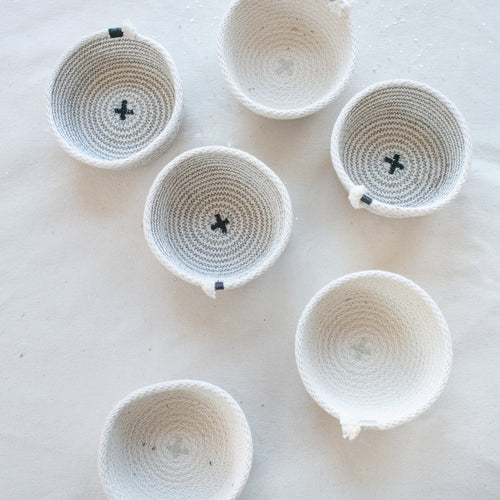 Small Cotton Rope Storage Bowl