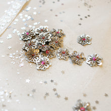 Load image into Gallery viewer, Silver/Light Pink Sequin Stars