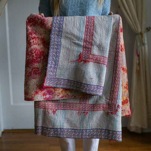 Vintage Kantha Throw 6/11