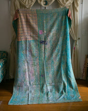 Load image into Gallery viewer, Vintage Kantha Throw 7/11