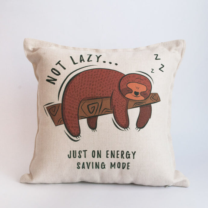 Not Lazy Pillow