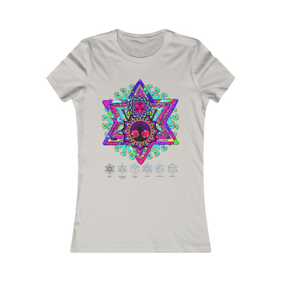 Women's Beautiful Sacred Geometry Favorite TShirt**This Product Ships Via E-Packet & Arrives In 4- 21 Days - Average Delivery Time Is 10 Days** - Shift+Alt+Paradigm Metaphysical Style & Supply