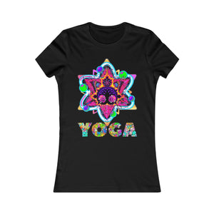 Awesome Spiritual Sacred Geometry Butterfly Yoga Women's Favorite T-Shirt - Shift+Alt+Paradigm Metaphysical Style & Supply