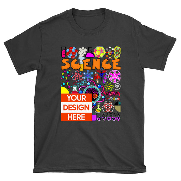 Personalized DIY Design Unisex T-Shirt - Shift+Alt+Paradigm Metaphysical Style & Supply