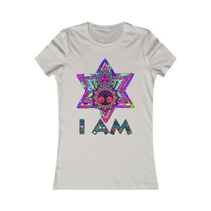 """I AM"" Spiritual Sacred Geometry Consciousness Women's T-Shirt - Shift+Alt+Paradigm Metaphysical Style & Supply"